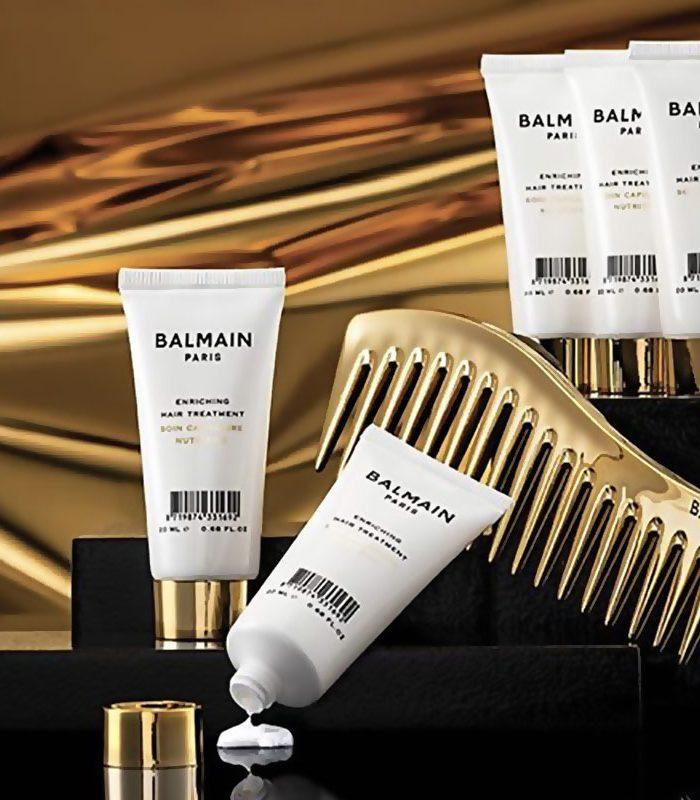 La experiencia de lujo hecha realidad, un perfume sensorial para el cabello de Balmain Paris